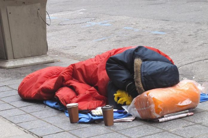 An estimated 35,000 Canadian youth are living on the street (photo: The Push for Change)