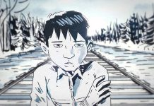 'The Secret Path', written and directed by the late Gord Downie with illustrations by Jeff Lemire, tells the story of 12-year-old Chanie Wenjack who died 50 years ago while trying to walk 600 kilometres to his northwestern Ontario home after fleeing a residential school in Kenora. (Illustration: Jeff Lemire)
