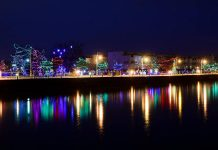 Activity Haven is organizing a tour of Christmas lights on December 5, including Christmas Magic along the Cobourg waterfront (photo: Cobourg Tourism)