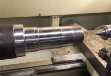 The new CNC lathe at Goodwin Metal Products in Peterborough (supplied photo)