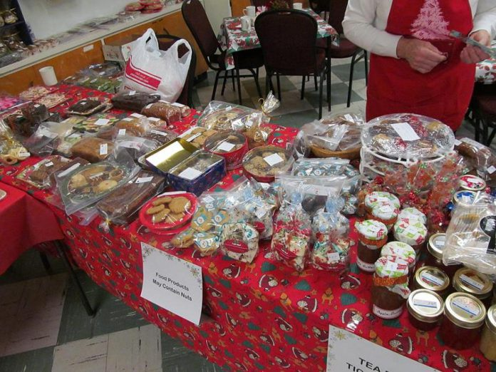 Bazaars and bake sales are a great place to support your community and buy home baked goods, like these from last year's Christmas Bazaar, Tea and Bake Sale held at Christ Evangelical Lutheran Church. (Photo: Christ Evangelical Lutheran Church)