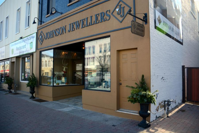 Johnson's Jewellers at 157 Kent Street West has been a fixture of Lindsay's downtown for the past 70 years. (Photo: Eva Fisher)