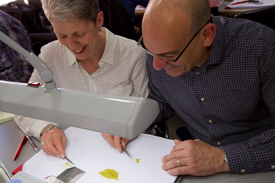Janet and John source ethical diamonds directly from the diamond district in Antwerp. (Photo: Johnson's Jewellers)
