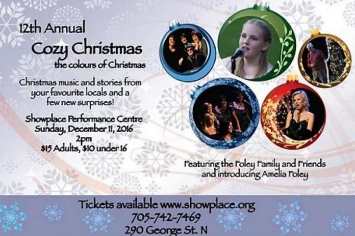 It's a family affair at Cozy Christmas at Showplace on December 11