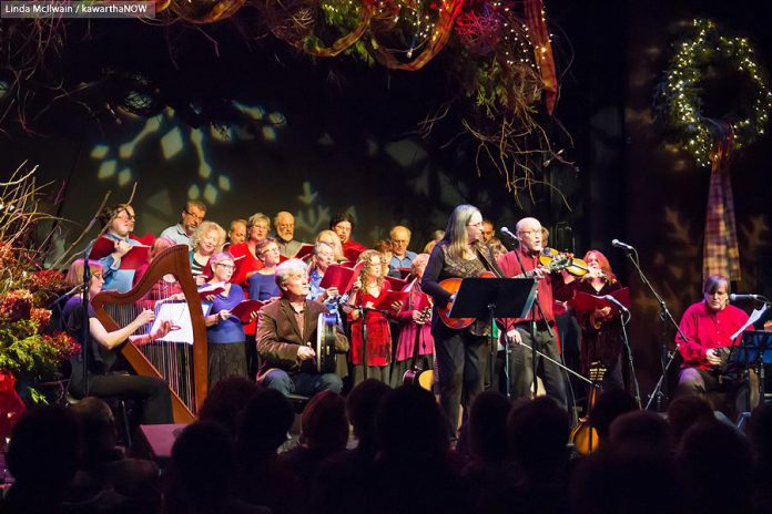 Enjoy Celtic and contemporary carols and seasonal songs while raising funds for the YES Shelter for Youth and Families at the annual In From the Cold Christmas concert (photo: Linda McIlwain / kawarthaNOW)