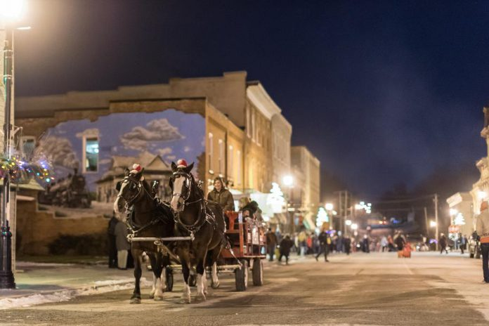 """""""Christmas in the Village"""" in Millbrook takes place December 1 to 4 (photo courtesy of Marjorie McDonald)"""