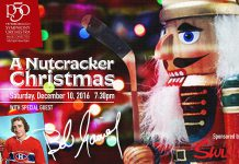 Tickets are selling fast for A Nutcracker Christmas on December 10th, with a special appearance by Peterborough hockey legend Bob Gainey. Contact the Showplace box office to reserve your seats (adults $30, students $10).