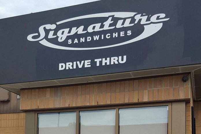 Signature Sandwiches in Peterborough offers homemade fare and has a drive-thru (photo: Signature Sandwiches / Facebook)