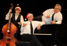 The original lineup of The Three Martins (Jimmy Bowskill, Rob Phillips, and Dan Fewings) are performing two holiday shows in Peterborough and Bowmanville this December, featuring special guest musicians (supplied photo)