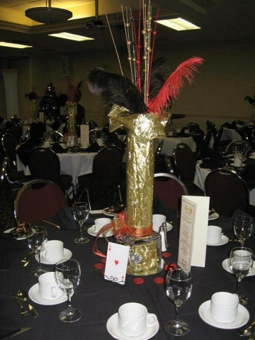 The Peterborough Construction Association held a Christmas Casino party, complete with black jack and roulette. (Photo: Swanky Events)