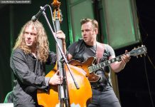 """Ryan and Sam Weber of The Weber Brothers, who'll be performing a multi-media Christmas concert at Peterborough's Market Hall on December 17 featuring their new full-length film """"When Christmas Falls On Peterborough"""" directed by Rob Viscardis (photo: Linda McIlwain / kawarthaNOW)"""