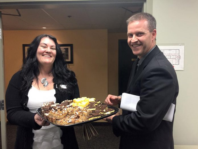 Kawartha Chamber of Commerce & Tourism volunteers Cindy and Bryan. Do you want to support your community and enhance your professional development? The Chamber is seeking volunteers for a variety of committees in 2017/18.