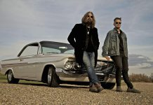 """Tom Wilson and his son Thompson Wilson toured the United States earlier this year in support of Lee Harvey Osmond's latest record """"Beautiful Scars"""". Tom and Thompson will be performing as Lee Harvey Osmond at the Market Hall in Peterborough on January 19. (Photo courtesy of Tom Wilson)"""
