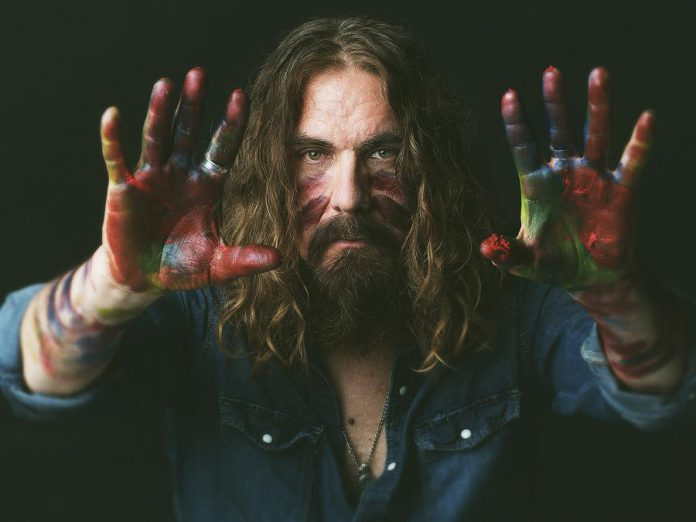 """Tom Wilson from the cover of """"Beautiful Scars"""", the latest record from acid folk band Lee Harvey Osmond (photo: Jen Squires)"""