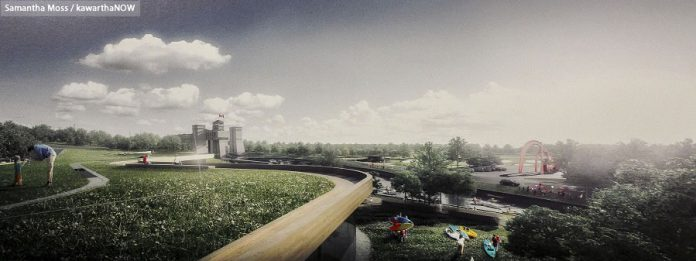 The new design features a rooftop garden (photo: Samantha Moss / kawarthaNOW)