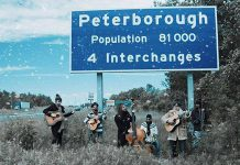"The Weber Brothers present ""When Christmas Falls on Peterborough"", a multimedia show of their new concert film, at the Market Hall on Saturday, December 17 (photo: The Weber Brothers)"