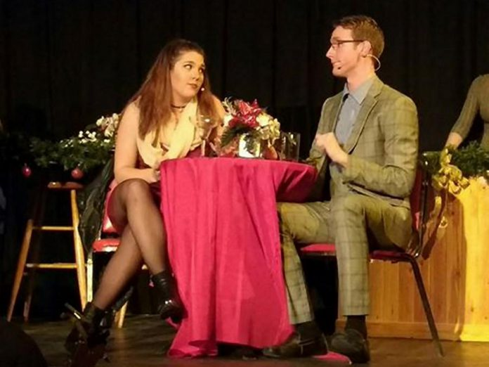 Amber Coast Theatrical presents its debut production at the Gordon Best Theatre until December 11 (photo: Sam Tweedle / kawarthaNOW)