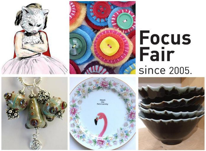 Focus Fair runs Saturday and Sunday at The Spill in downtown Peterborough (graphic: Focus Fair)