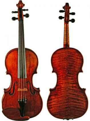 Elizabeth Pitcairn was the recipient of the 1720 Red Mendelssohn Stradivarius after its purchase for $1.7 million US at auction in 1990. (Photo courtesy of Elizabeth Pitcairn)