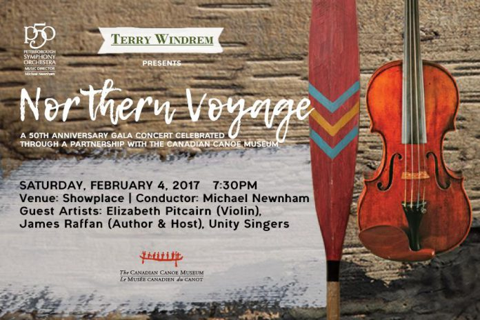 Northern Voyage takes place at Showplace Performance Centre at 7:30 p.m. on Saturday, February 4, 2017.