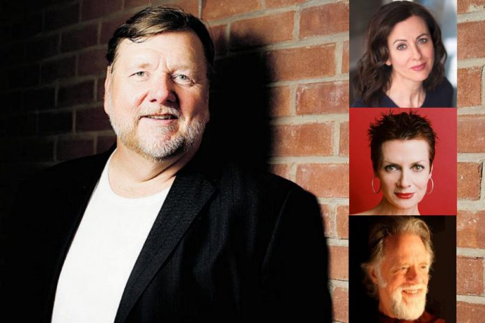 Singers Ben Heppner with Rebecca Caine, Jean Stilwell, and  Gary Relyea