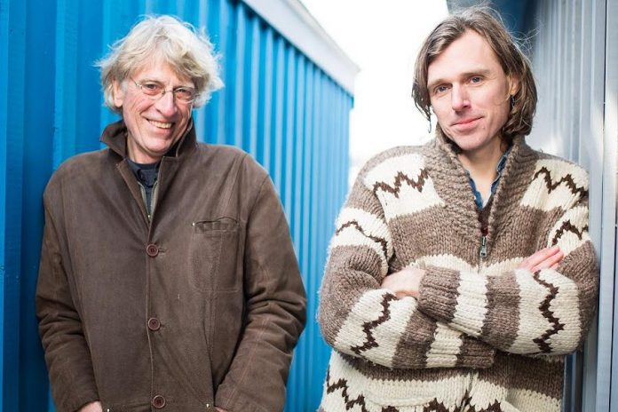 "Bill and Joel Plaskett: ""My dad and I share a love of folk music."" (photo courtesy of Joel Plaskett)"