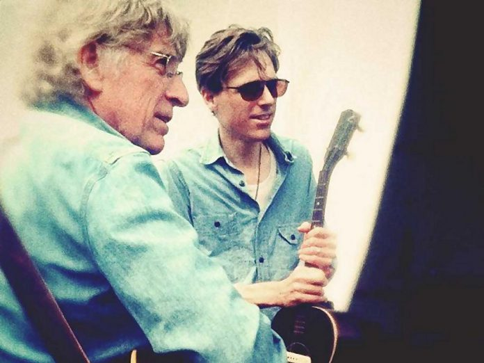 """My dad and I playing music together is something real.""  To be released in February, Solidarity is the new album Joel Plaskett (right) recorded with his father Bill  (photo courtesy of Joel Plaskett)"