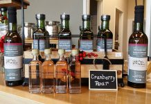 Pip & Wilbur Artisan Olive Oil and Vinegar Tasting Bar in Peterborough offers quality olive oil and balsamic vinegar products (photo: Pip & Wilbur / Facebook)