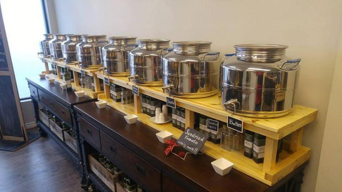 Stop in at Pip & Wilbur Artisan Olive Oil and Vinegar Tasting Bar for a sample (photo: Pip & Wilbur / Facebook)