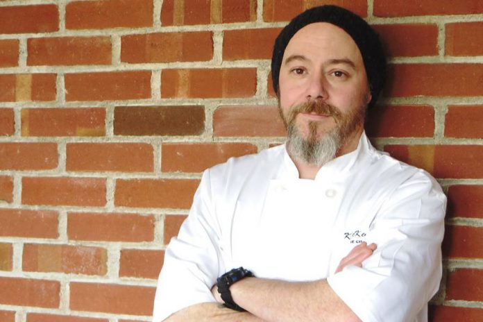 Chef Kevin McKenna, owner of the new Hunter County Cuisine & Wine Bar in downtown Peterborough (photo: Hunter County Cuisine & Wine Bar)