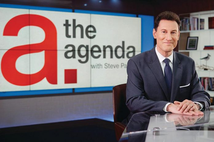 Steve Paiken, anchor of TVO's current affairs program The Agenda with Steve Paikin, is speaking at the Market Hall on March 23 (photo: TVO)