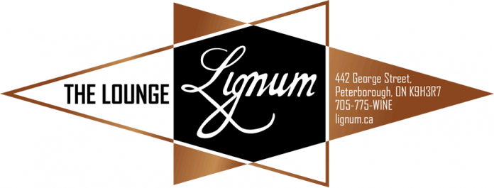 The Lounge by Lignum, a new wine bar and small plates dining lounge, opens in downtown Peterborough on January 18 (graphic: Lignum)The Lounge by Lignum, a new wine bar and small plates dining lounge, opens in downtown Peterborough on January 18 (graphic: Lignum)