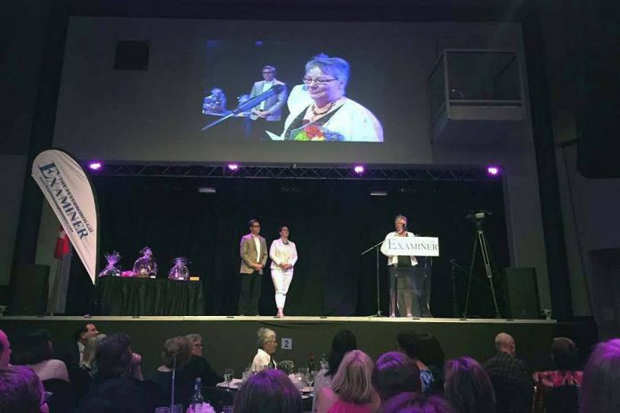 Local business owner and WBN board member Louise Racine conceived of the idea of a local conference on International Women's Day after receiving the Judy Heffernan Award at the Women in Business awards in June 2016 (photo: WBN / Facebook)