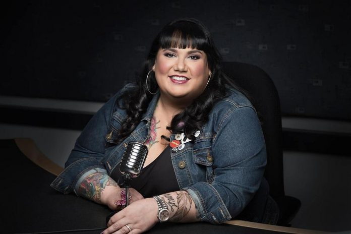 Recovered lawyer, feminist comic, and CBC radio host Candy Palmater is one of the keynote speakers at the first-ever International Women's Day Conference Peterborough on March 8th in Peterborough (publicity photo)