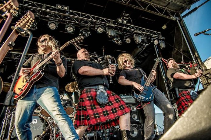 Canada's Celtic rockers Mudmen perform on January 14 at the Market Hall (photo: Mudmen)