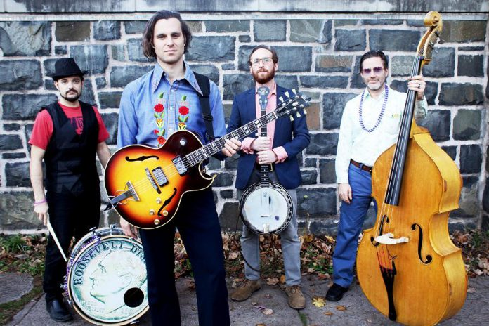 Americana folk-roots rockers Roosevelt Dime perform at the Gordon Best Theatre in Peterborough on Saturday, January 14 (photo: Fatima Talib)