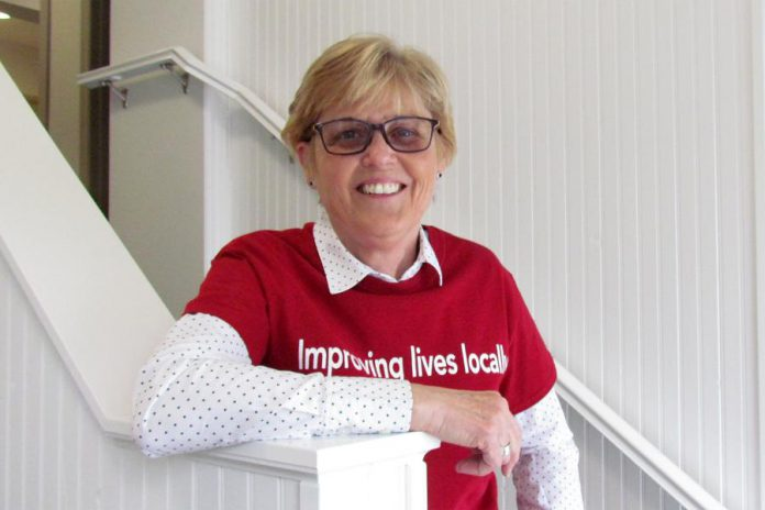 Lynda Kay is retiring as CEO of Northumberland United Way at the end of May 2017 (photo courtesy of Northumberland United Way)