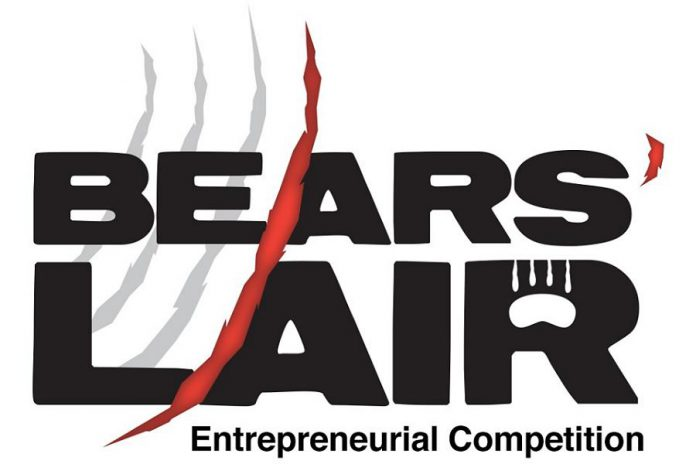 The deadline for the 2017 Bears' Lair entrepreneurial competition is March 2