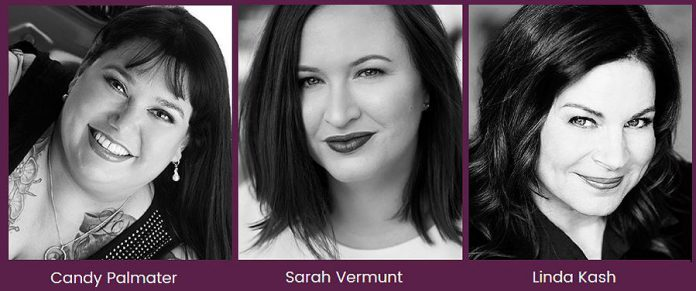 Keynote speakers at the International Women's Day Conference Peterborough are Candy Palmater, Sarah Vermunt, and Linda Kash