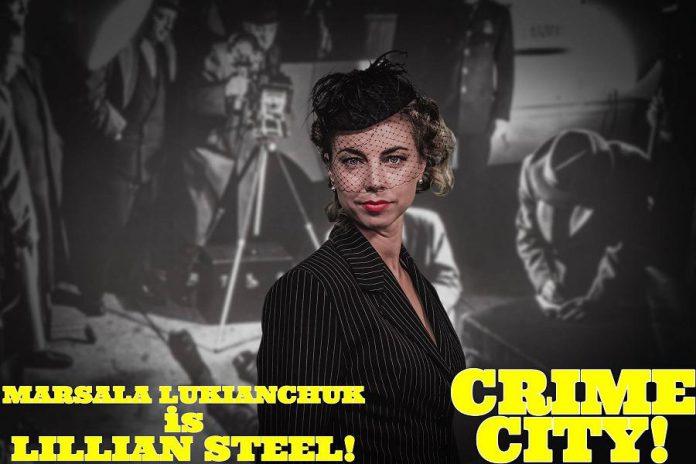 Marsala Lukianchuk is former spy Lillian Steel. (Photo: Adam Martignetti)