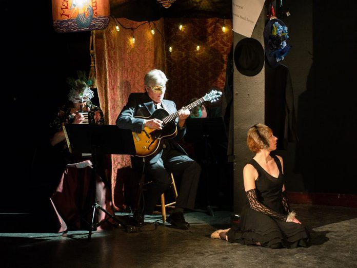 The production features original music written and performed by Rob Fortin, along with Susan Newman, Dan Fortin, and Bennett Bedoukian (photo: Andy Carroll)