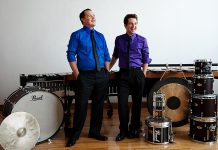 Performing Arts Lakefield presents Duo Percussion, known for their eclectic and high-energy performances, on February 17 at the Bryan Jones Theatre at Lakefield College School