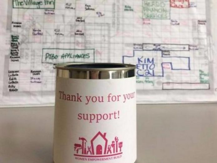 The Kawartha Chamber's Habitat Team is raising funds to support the Habitat for Humanity Build in Warsaw. For every dollar you donate, you can write your name on a square of the Warsaw Home blueprint.