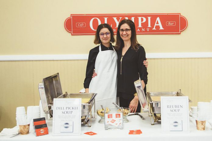 Local restaurants, including the Olympia, will compete to make great tasting and unique soups at Lindsay SoupFest (photo: Youth Unlimited SoupFest Committee)