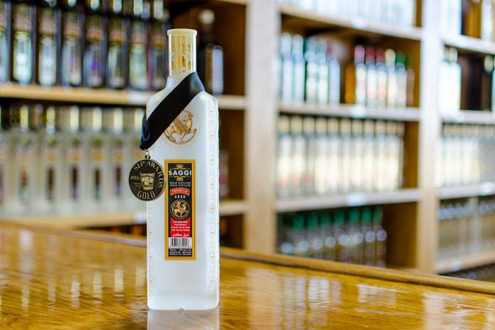 Persian Empire's Saggi took a gold medal at California's Sip Awards last year. Persian Empire offers a broad selection of spirits. (Photo: R. Kris McNeely)