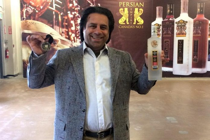 Owner Bruce Khabazzi is pictured in Persian Empire's event space, which is available for rental (photo: Eva Fisher)