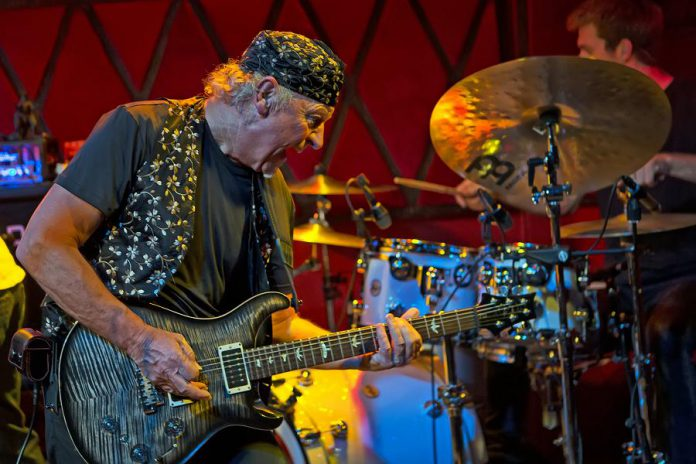 Former Jethro Tull guitarist Martin Barre (photo: Martin Barre)