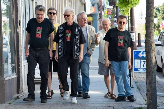 Legendary Peterborough band Max Mouse & The Gorillas (Buzz Thompson, Jim Leslie, Cris Cuddy, John Lang, Bobby Watson, and JP Hovercraft) are performing at a fundraiser for the Lakefield Welfare Animal Society on Sunday, February 12 at The Red Dog in Peterborough. (Photo: Max Mouse & The Gorillas / Facebook)