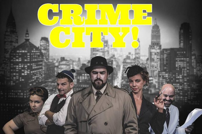 Parody detective radio serial Crime City moves to the Gordon Best for an expanded episode on February 25 (photo: Adam Martignetti)