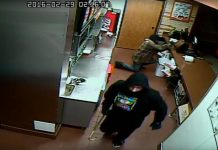 Do you recognize this man? Police suspect he is one of two men who have robbed the same Lansdowne Street West restaurant three times over the past three years (photo: Peterboough Police Service)